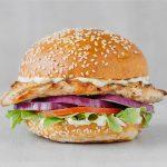 Flame Grilled Lemon & Herb Chicken Burger