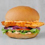 Chilli chicken burger